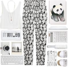 """""""White"""" by raquel-t-k-m on Polyvore"""