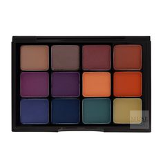 Shop Viseart Eyeshadow Palette:04 DARK MATTE | Professional Eye Makeup | Muse Beauty.Pro
