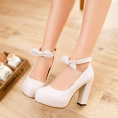 Don't know about you but I love me some chunky heels! So easy to ...