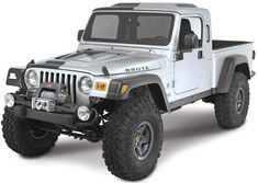 jeep-brute. Cool looking but I see no room whatsoever