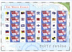 """Flags at Sea; ENSIGN William Crampton in his book """"The World of Flags"""" wrote """"The use of flags at sea was the beginning of the ..."""