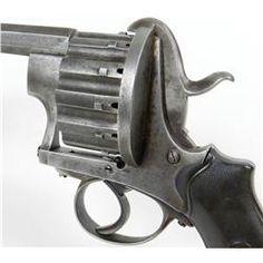 Belgium 12-Shot Pinfire Revolver