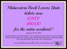 Midwestern Book Lovers Unite in Minneapolis, Minnesota. September 26-28, 2014.