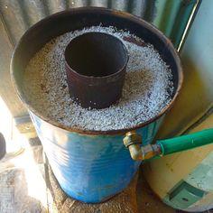 Rocket stove water heater02
