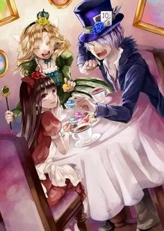 Aww! Ib / alice in wonderland! This is amazing! I lover he Internet, you find the awesomely things