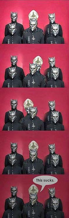Ghost, Papa Emeritus, The Nameless Ghouls