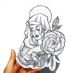 🌹✨ 𝕱𝖔𝖑𝖑𝖔𝖜 @𝕭𝖍𝖆𝖉𝖉𝕸𝖆𝖒𝖎𝖎𝖎 𝕱𝖔𝖗 𝕸𝖔𝖗𝖊 𝕯𝖆𝖎𝖑𝖞 𝕻𝖎𝖓𝖘 ✨🌹 Tatto Ink, Tattoo Femeninos, Mary Tattoo, Piercing Tattoo, Piercings, Big Tattoo, Nature Tattoos, Life Tattoos, Body Art Tattoos
