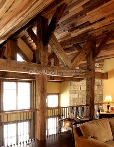 Hand Hewn Barn Beam Timber Framing