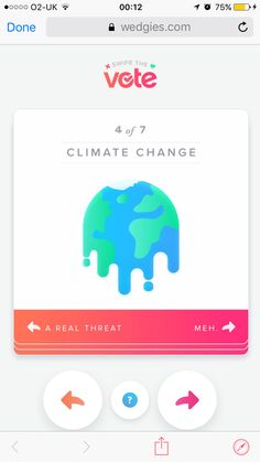 Tinder - swipe the vote Contextual Advertising, Tinder, Climate Change