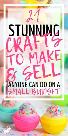21 Brilliant Crafts To Make and Sell For People Who Like Extra Cash! 21 Brilliant Crafts To Make and Sell For People Who Like Extra Cash! Diy Gifts To Sell, Easy Crafts To Sell, Crafts For Teens To Make, Sell Diy, Make To Sell, Kids Diy, Homemade Crafts, Diy Crafts, Homemade Stuff To Sell