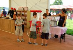 The London Barbecue can offer fun concepts for kids with candy floss, popcorn and sweety stations