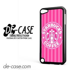 Starbucks Pink Strips DEAL-10105 Apple Phonecase Cover For Ipod Touch 5