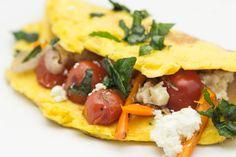 Hovkonditorn: Omelet with Vegetables