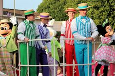 Dapper Dans leading the Bunny Hop on Main Street. Spring Fling (March 25). Photo by #AlyssaKing
