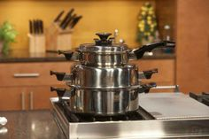 Stacked cookware!