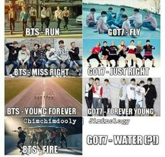 #BTS #BangtanBoys & #Got7