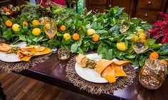 Home & Family - Tips & Products - Michael Gaffney's Lemon Leaf Garland | Hallmark Channel