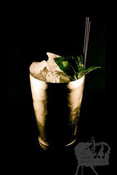 JD SMASH (50ml Jack Daniel's Single Barrel, 20ml Lemon Juice, 10ml Sugar Syrup, 8 Mint Leaves and Crushed Ice)