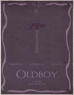 Oldboy (2003) ~ Minimal Movie Poster by Steve Womack