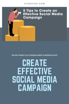 5 tips to create an effective social media campaign - Marketing Tools, Social Media Marketing, Digital Marketing, Media Campaign, Growing Your Business, Social Media Tips, Ecommerce, Online Business, How To Apply
