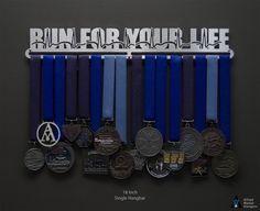 New Products Medal Hangers | Sport & Running Medal Displays | The Original Stainless Steel Medal Display