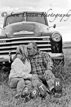 Anniversary Photo Idea... In front of Dales