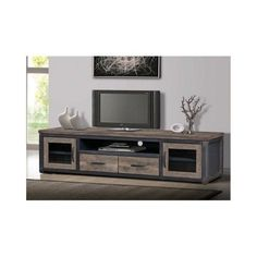 shop for venetian 3 drawer entertainment center get free shipping at overstock com your online furniture outlet store get 5 in rewards with cl