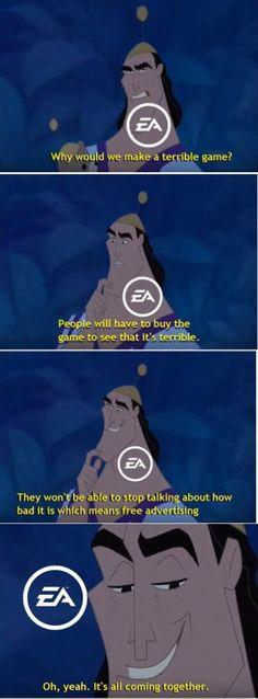 EA's plan