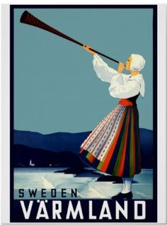 One of our vintage travel posters.