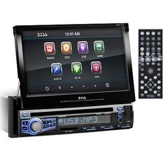 boss bv9351b double din bluetooth in dash dvd cd am fm digital new boss bv9973 7 touchscreen 1 din car stereo dvd cd car radio usb car