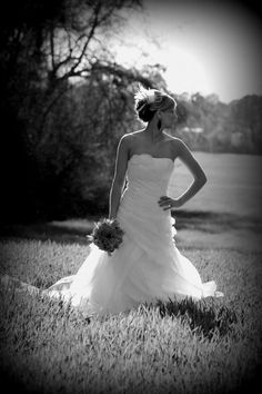Outdoor bridal portairts; Wheat field: Bridal portraits by:  Moore Memories photography