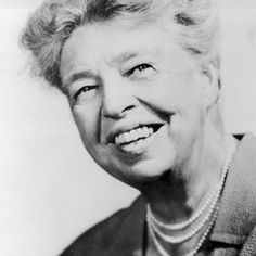 Eleanor Roosevelt    1884 - 1962  