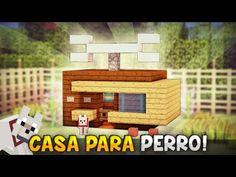 Gato Minecraft, Minecraft Dog House, Minecraft Ideas, Minecraft Youtube, Hacks Diy, Legos, Ideas Para, Creations, Kawaii