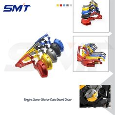 56.89$  Watch now - http://ali15r.worldwells.pw/go.php?t=32472280790 - 5 colors engine saver stator case guard cover motorbike frame slider protector For BMW S1000RR HP4 K42 K46 09 10 11 12 13 14 15 56.89$