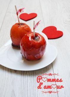 Pommes d'amour - Selon l'humeur... Ou l'envie...