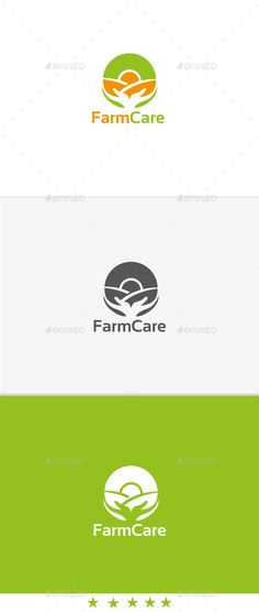 Farm Care - Logo Design Template Vector #logotype Download it here: http://graphicriver.net/item/farm-care/11388977?s_rank=885?ref=nexion