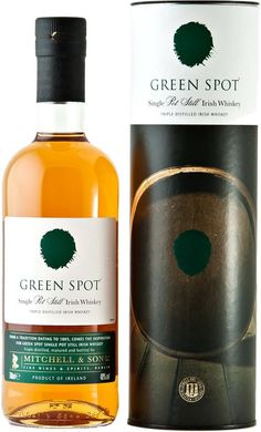 "#FathersDay Pick:  Green Spot Single Pot Still Irish Whiskey | Aged for nearly a decade, this whiskey is ""unquestionably one of the world's greatest whiskies,"" according to the Whisky Bible."