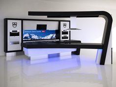 V Zug Display Kitchen HQ Showroom Perth. Design by Peter Carman Dakota Design 2013
