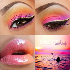 summer mermaid ♥ http://www.makeupbee.com/look_summer-mermaid-_47450