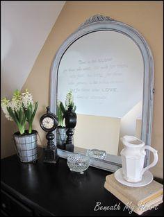 etch on mirror