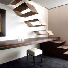 Boxy stairs