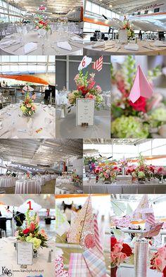 #Aviation themed #wedding inspiration board