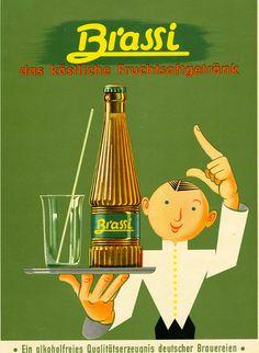 Brassi by Artist Unknown | Shop original vintage posters online: www.internationalposter.com