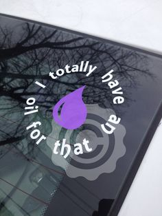 Essential Oils Oil For That Vinyl Decal Young by directvinyl