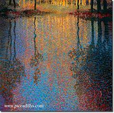 Summer's Pond by Ton Dubbeldam