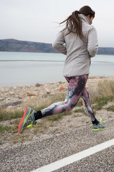 The Teeki Eagle Feather Pant in Pink and the @lolewomen Interest Fleece