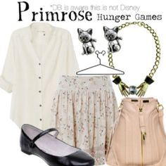 Primrose (The Hunger Games) Inspired Outfit