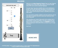 Julie quesnell juliequesnell on pinterest oboe fingering trainer by paul hatton fandeluxe Choice Image