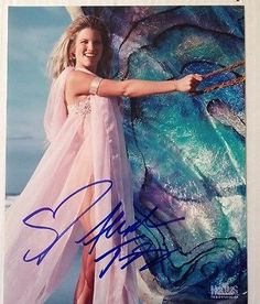 XENA-WARRIOR-PRINCESS-Aphrodite-Signed-By-Alexandra-Tydings Amazon Queen, Xena Warrior Princess, Aphrodite, Hercules, Tie Dye Skirt, Actors & Actresses, Characters, Hot