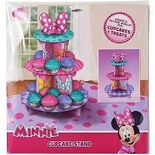 Resultado de imagem para Red Minnie Mouse 3 Tier Cupcake